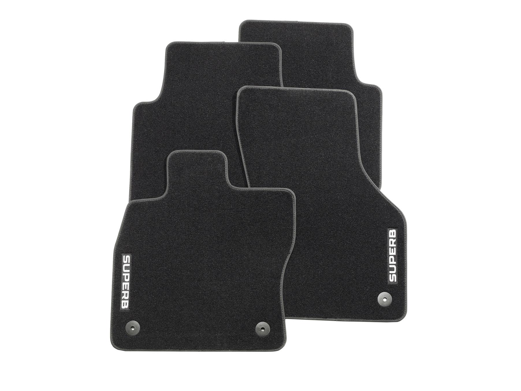Textilfußmatten-Set Premium SUPERB III
