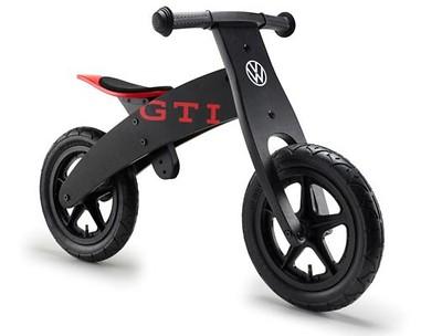 Kinderlaufrad Schwarz/Rot, GTI Design