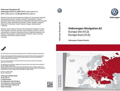 "Navigations-SD-Karte ""AZ Europa Ost"" (V12)"