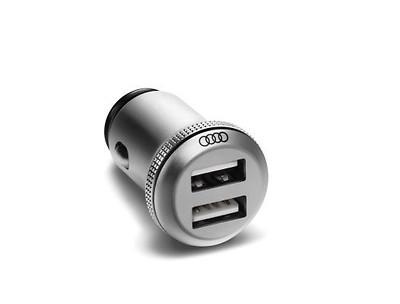 USB-Ladeadapter dual universeller Ladeadapter mit 12-Volt-Stecker und 2 USB-Buchsen