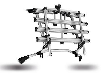 Fahrradträger für die Heckklappe max. 4 Fahrräder, max. 60kg, nicht für elektrische Heckklappe