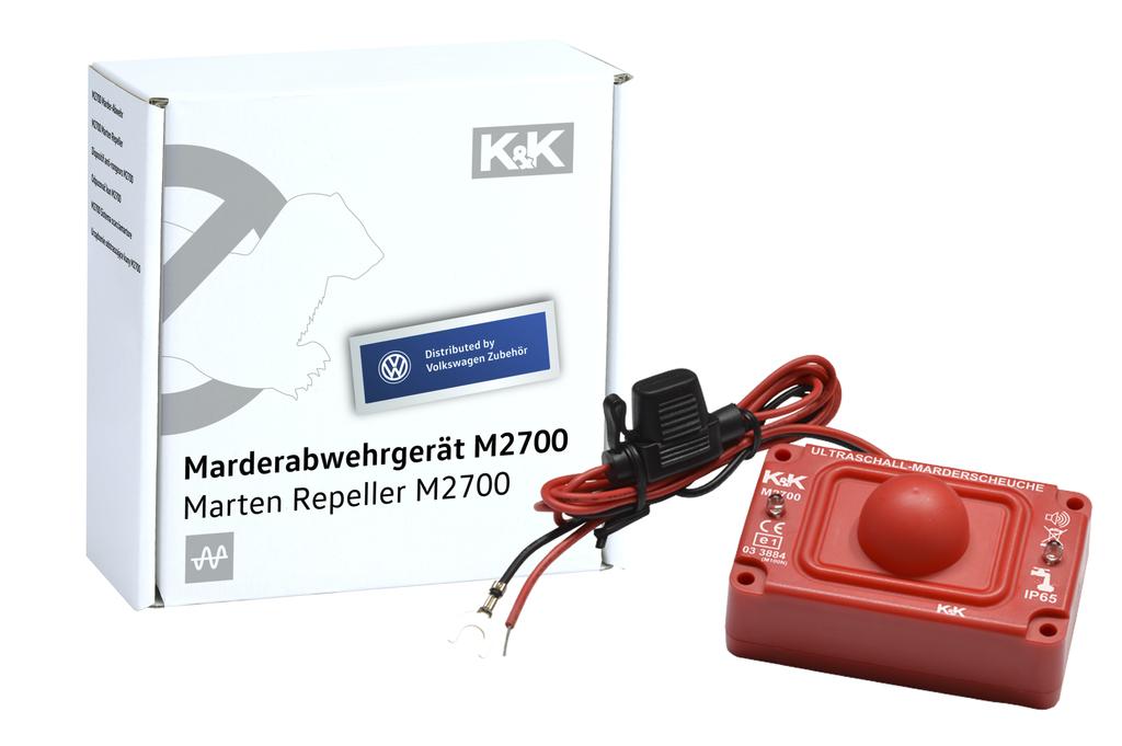 Marder-Abwehranlage (elektrotechnisch)  K&K - M2700 - wasserdicht