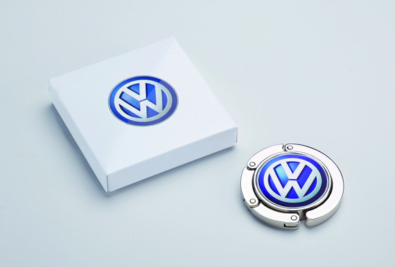 Handtaschenhalter mit VW Logo